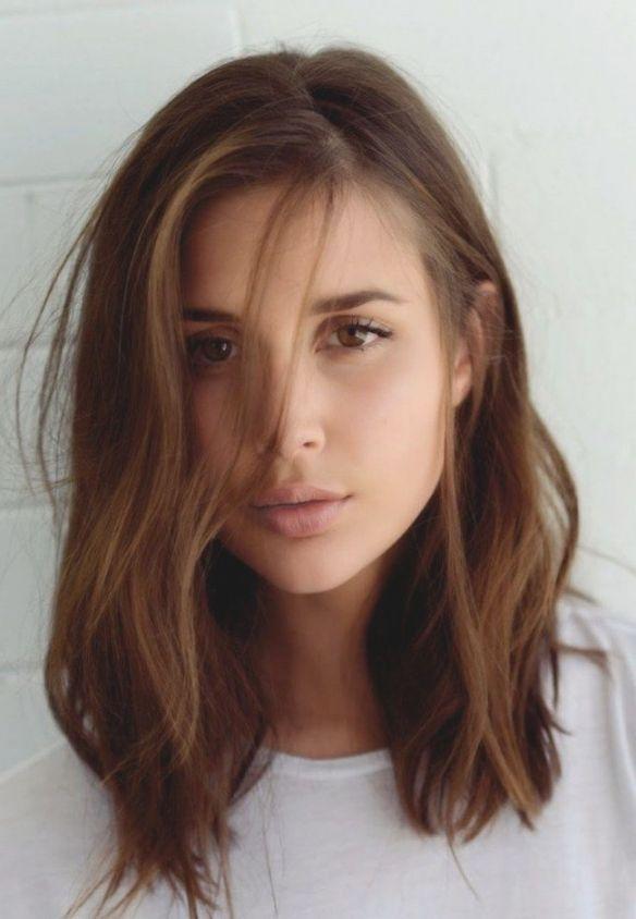 Frisuren Frauen Mittellang Braun Haare Trendfrisuren