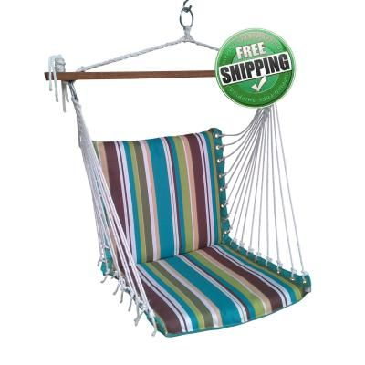 Hangit.co.in - Best Buy Online Hammock Swing Shopping Outdoor Garden Furniture Store Website in India ON SALE! Polyester Premium Cushioned Garden Swing Chair with Best Price in India Cushioned Swings
