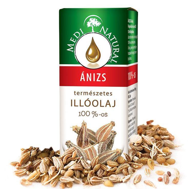MediNatural ÁNIZS ILLÓOLAJ 10ml - Pimpinella Anisum Oil