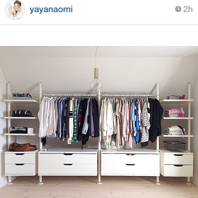 Yayanaomi fixar klädförvaring fint