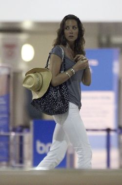 Kate Middleton at Grantley Adams International Airport 12-27-2007