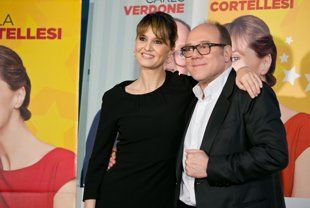 Paola Cortellesi, Carlo Verdone su Yahoo!