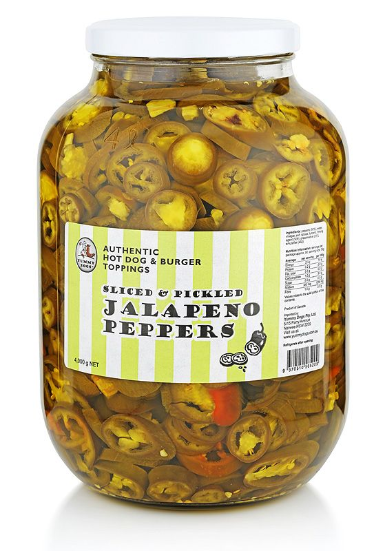 Packing a real wallop, our sliced jalapeno peppers make a tasty addition to salsa, Mexican food and any savoury dish crying out for a peppery punch.