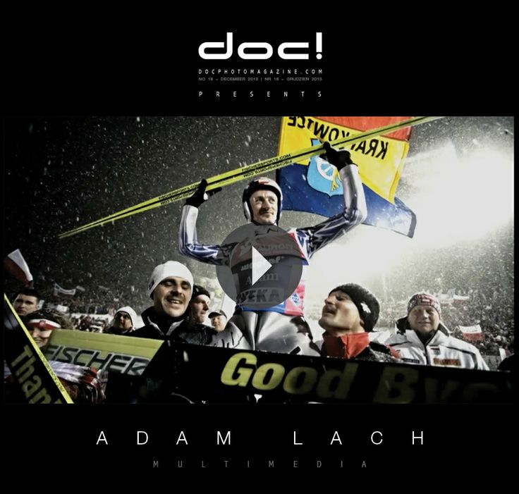 doc! photo magazine presents: Adam Lach's short documentary film THE LAST SKI JUMP; doc! #18, pp. 208-209