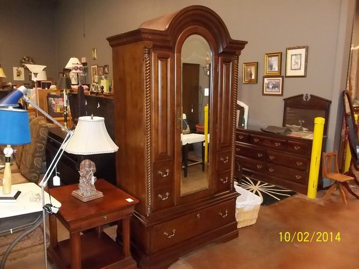 Sumter cabinet mecklenburg collection wardrobe armoire sumter cabinet furniture - Sumter bedroom furniture ...