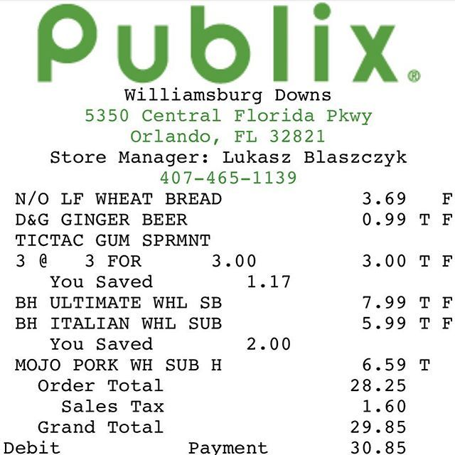DYK? With the updated @Publix app you can not only see