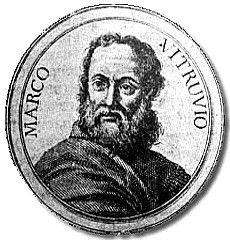 Marcus Vitruvius Pollio (c. 90 - c. 20 BCE), better known as Vitruvius, was a Roman military engineer and architect who wrote De Architectura (On Architecture), a treatise which combines the history of ancient architecture and engineering with the author's personal experience and advice on the subject. Since no similar work has survived complete from antiquity, the book has become an invaluable source.
