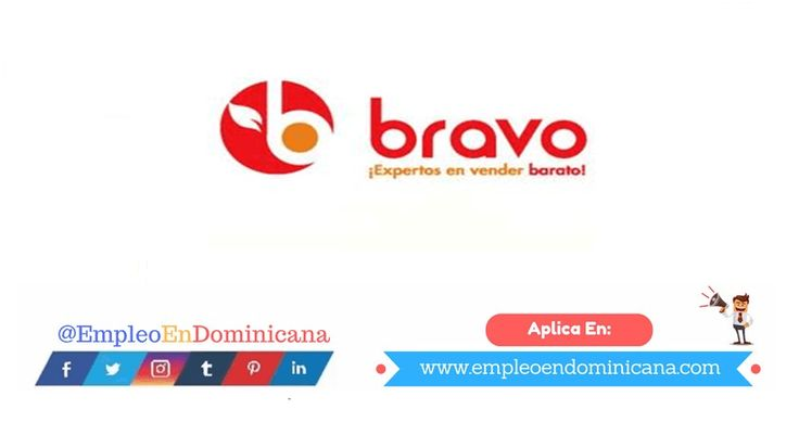 Oferta de Empleo en Supermercado Bravo de Santo Domingo y Santiago
