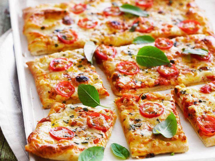 Pizza au fromage, facile et pas cher