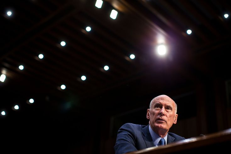 Dan Coats the Intelligence Chief Finds His Voice. Will It Anger Trump?