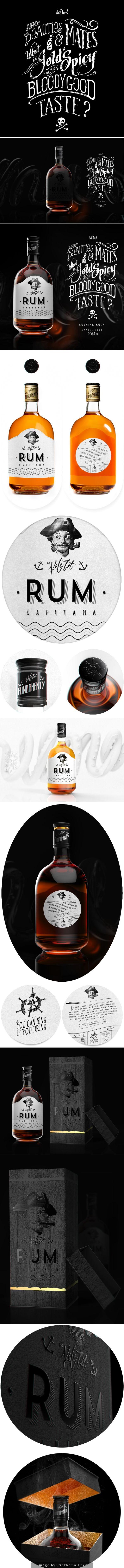 Branding Project: RUM by Mateusz Chmura