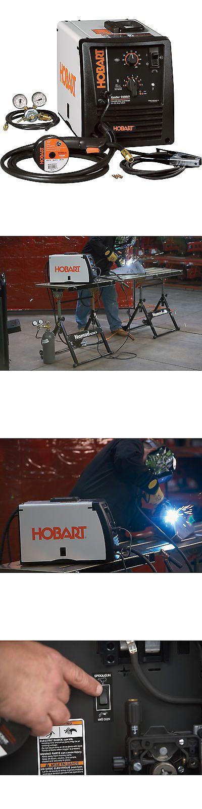 Welding and Soldering Tools 46413: Hobart Handler 210Mvp Wire Feed Mig Welder Model# 500553 -> BUY IT NOW ONLY: $849.99 on eBay!