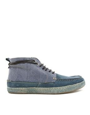Soldes 2012 Levi's - Chaussures bateau avec semelle en jute ( Repéré sur Asos)