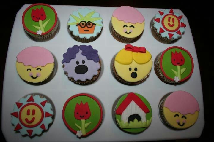 Woezel en pip cupcake