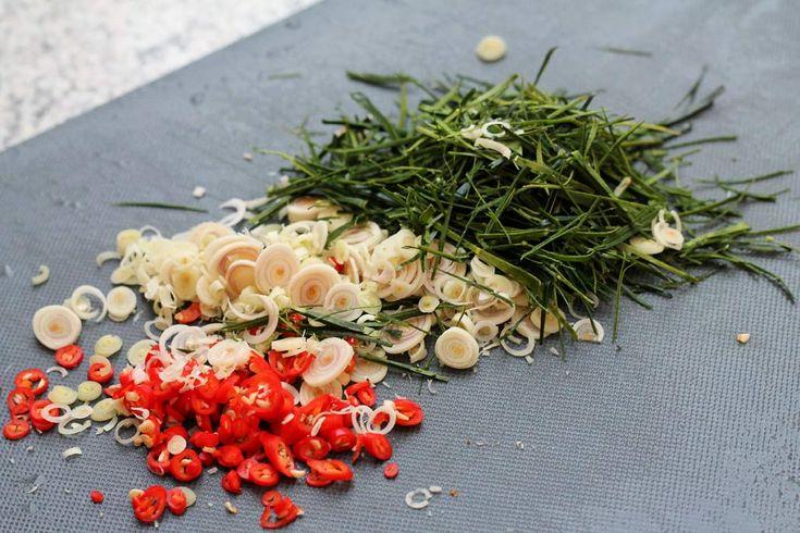 Khua Kling – südthailändisches, trockenes Curry mit Fleisch oder Fisch