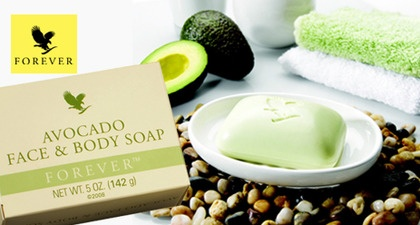 Forever Living Products Avocado Face and Body Soap.