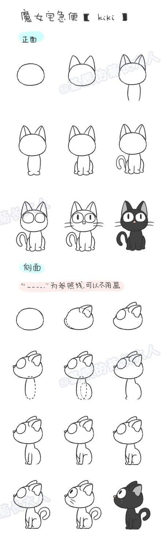 """""""花菊的日记插画教室⑥---kiki"""""""