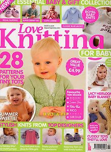 LOVE-KNITTING-FOR-BABY-MAGAZINE-Issue-11-28-PATTERNS-Toys-Shoes-Dress-Blanket