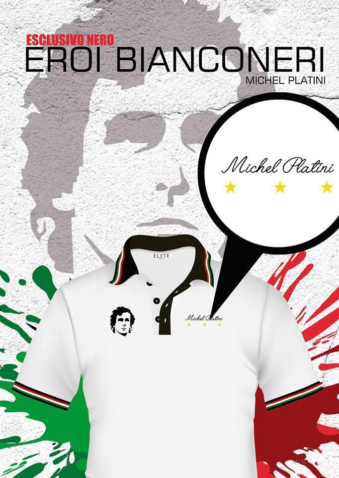 "Juve polo style, Michel ""le Roi"" Platini. Envíos a todo el país."