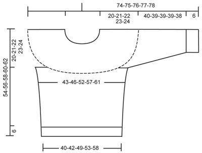 Jersey DROPS en doble hilo Alpaca Patrón gratuito de DROPS Design.