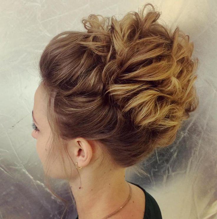 25+ Best Medium Hair Updo Ideas On Pinterest