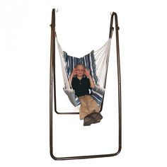 Outdoor/Indoor Swing Chair and Stand | Hammock Swing Chair | Sensory Integration Tools | Fun and Function