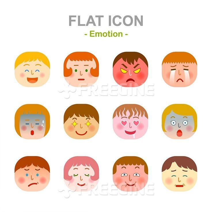 사람, 남성, 여자, 여성, 감정, 오브젝트, 남자, 일러스트, freegine, 표정, illust, 아이콘, 얼굴, 스티커, 이모티콘…
