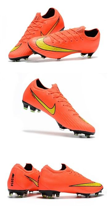 free shipping 67719 5de56 Nike World Cup 2018 Mercurial Vapor XII FG Boots - Orange Yellow