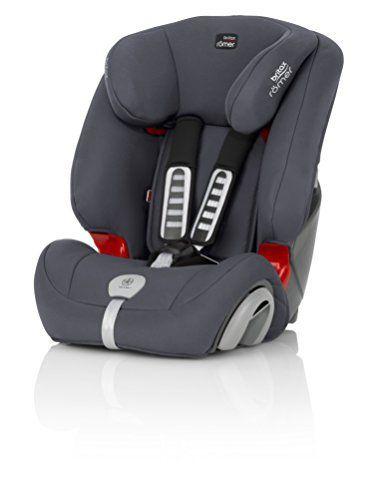 Britax Römer Evolva – Siège Auto: Installation face à la route avec la ceinture de sécurité à 3 points du véhicule Harnais de sécurité à 5…