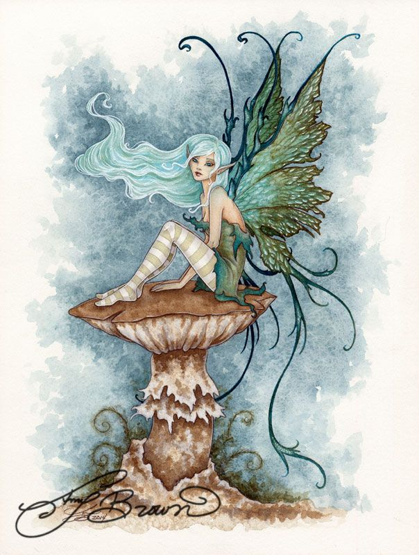 Art Print - Faery by Amy Brown