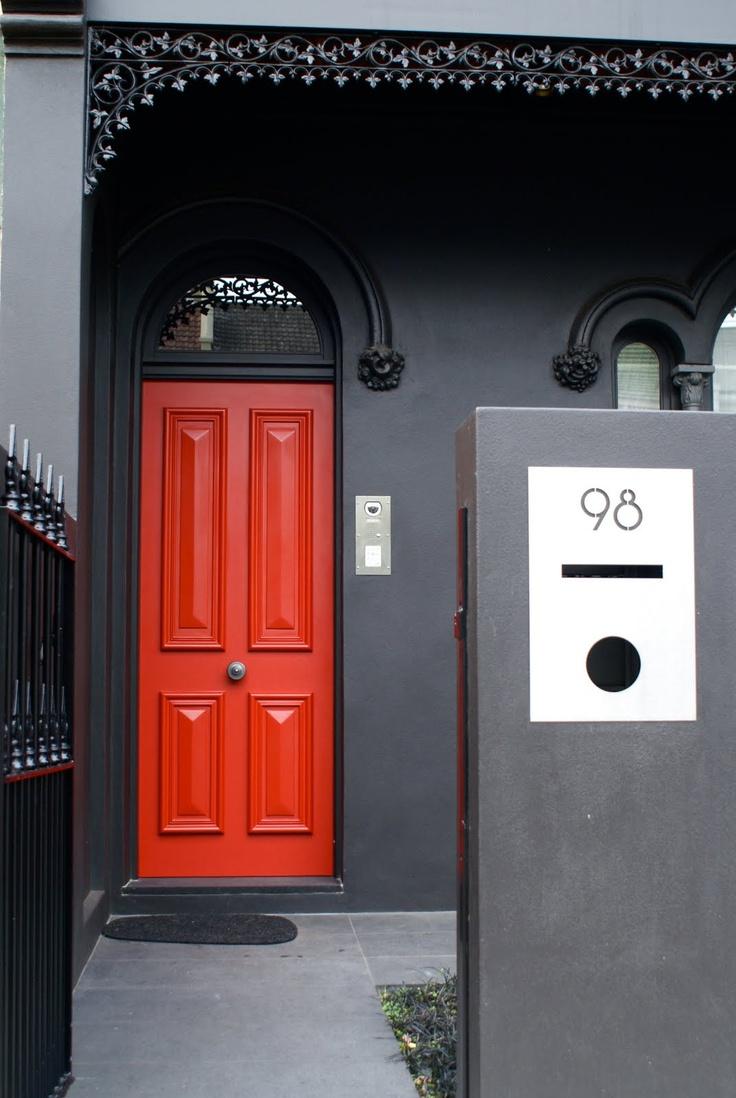 39 best red door images on Pinterest | Red doors, Entrance doors ...