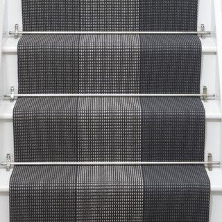 Renn stair runner in Pewter from Roger Oates