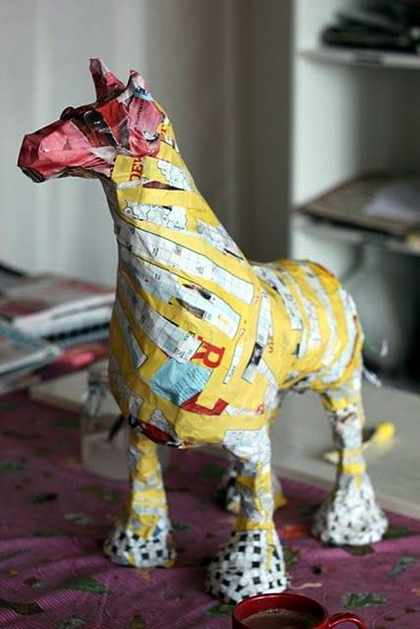 Awesome Paper Mache Creatures Like Never Seen Before (21)