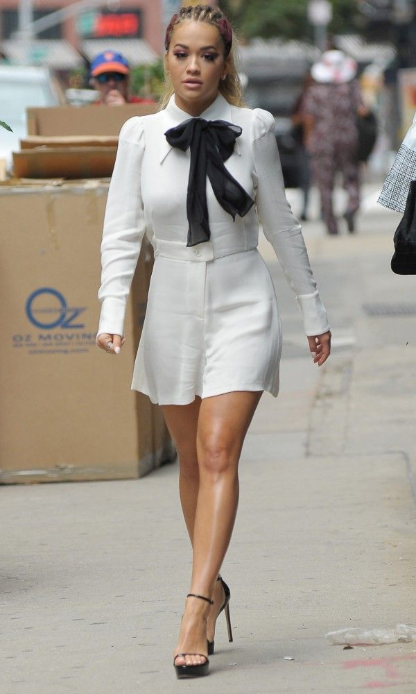 Rita Ora Brings Back The Playsuit - Wednesday 3rd August