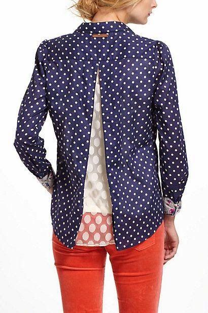 DIY: copiar una blusa de Anthropologie y conseguir unos centímetros extra de anchura | contra la crisis yo elijo...COSER | Bloglovin'