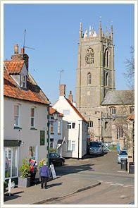 The lovely village of Folkingham