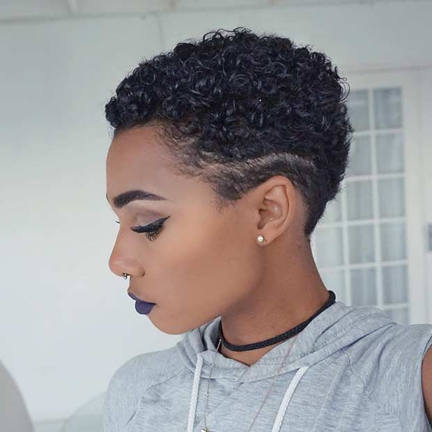 Gorgeous TWA Haircut