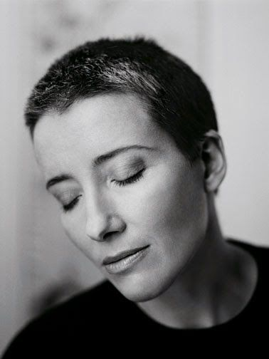"""Its unfortunate and I really wish I wouldn't have to say this, but I really like human beings who have suffered. They're kinder."" ~ Emma Thompson does anybody know the photographer?"