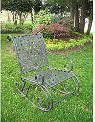 Wrought Iron Rocker - traditional - outdoor chairs - Overstock