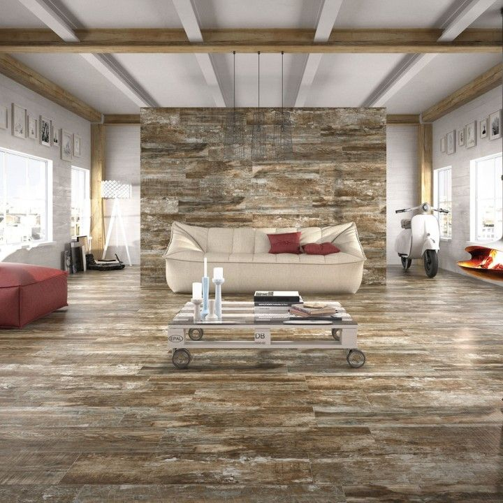 Life natural looking wood effect porcelain tiles have a warm textured matt finish and can we used on walls and floors. Their R10 anti slip finish gives them some anti slip qualities ideal for kitchens, halls and bathrooms. These hard wearing porcelain tiles are a beautiful alternative to real wood and with a PEI4 rating they can also be used within commercial environments.Please be aware there is high colour variation within and between these tiles.