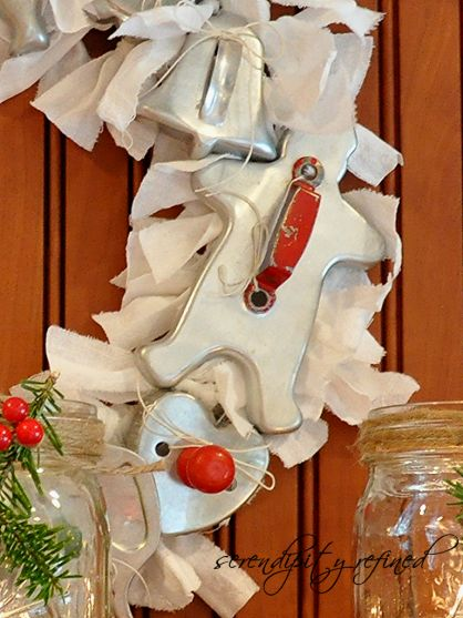great way to display old cookie cutters.