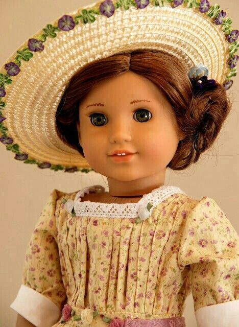 Sold: Dreamy Summery Edwardian look for American Girl doll Rebecca http://www.etsy.com/your/shops/DollhouseDesigns/reviews?ref=shop_info