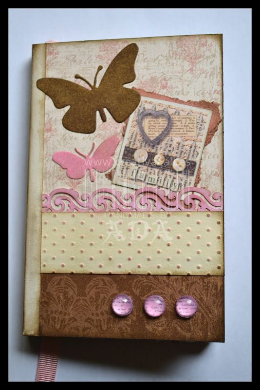 Creativa4all » SCRAPBOOKING: LIBRETA VINTAGE Libreta, notebook, shabby, scrap…