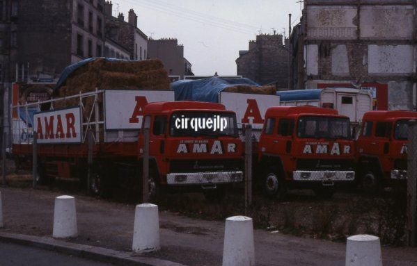CIRQUE AMAR PARIS - cirque