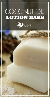 These coconut oil lotion bars are amazing and easy to make, perfect gift idea!