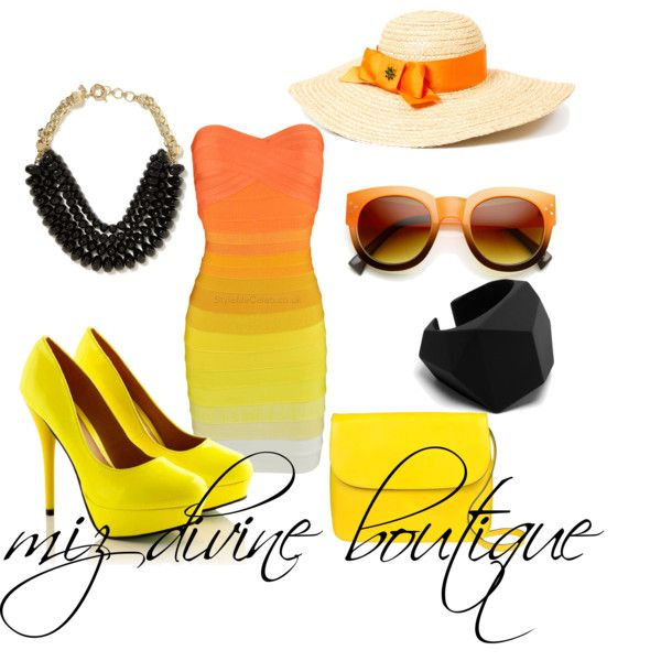 """A little ray of sunshine...."" by mizdivineboutique on Polyvore"