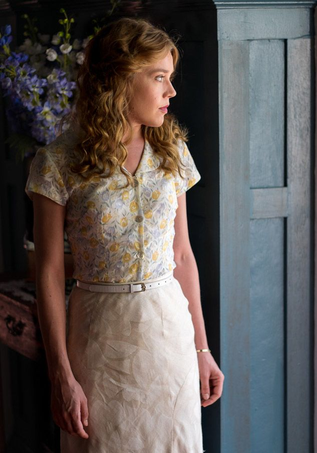 Alice Whelan - Jemima West in Indian Summers, set in 1932 (TV series).