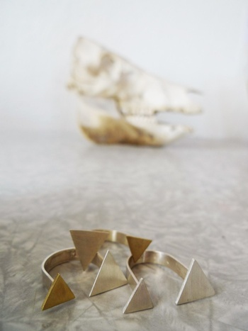 Two Triangles RingsBracelets Jewelry, Jewellery Accessories, Double Triangles, Triangles Rings, Clothing Accessories, Crafts In Waiting Jewelry, Gold, Crafts In Wait Jewelry, Jewelry Rings