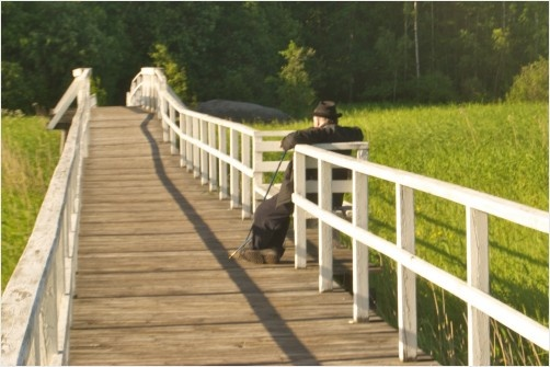The Old Man on the Bridge, in the archipelago of south/West of Finland.