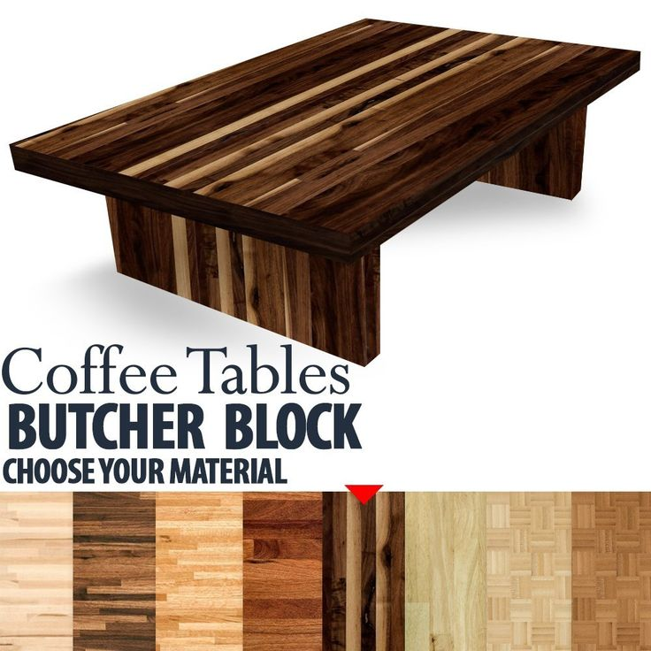 "Butcher Block Table - Coffee table - 1-1/2"" Thick. Please choose your material: Maple Butcher Block American Walnut Butcher Block Builder Oak Butcher Block American Cherry Butcher Block Builder Wallnut Butcher Block Hevea Butcher Block Parquet BAMBOO Butcher Block Natural - Unfinished Parquet BAMBOO Butcher Block Caramelized - Unfinished This butcher table is made of reclaimed wood with a block puzzle design. Reclaimed wood is unique, strong, stable, and durable. This handmade smooth…"